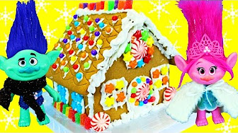 Trolls Gingerbread House