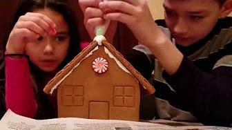 Candyland Gingerbread House