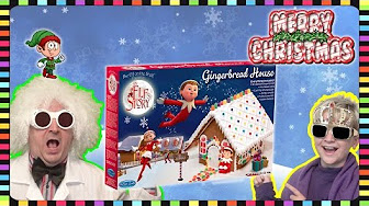 Elf On The Shelf Gingerbread House