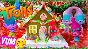 Trolls Gingerbread House
