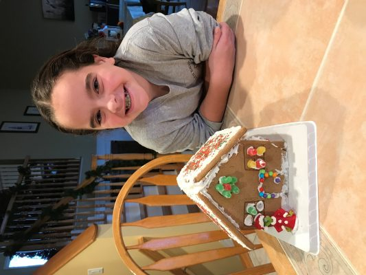 Marissa gingerbread house