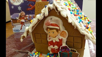 Elf On The Shelf Gingerbread House