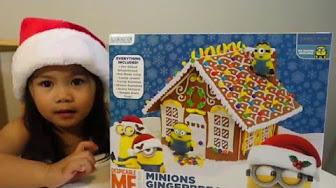 Minions Gingerbread House